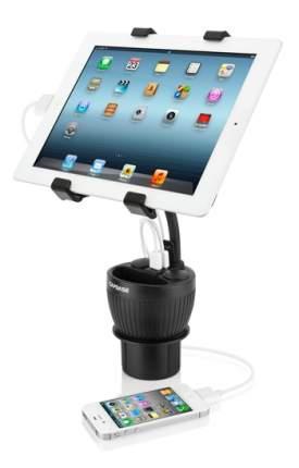 Автомобильный держатель для планшетов в подстаканник с зарядкой Car Charger Cup Holder