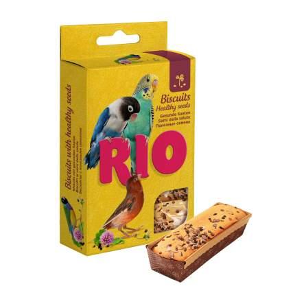 Лакомство для птиц RIO Бисквиты для всех видов птиц с полезными семенами, 5х7 гр, 0,035 кг