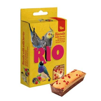Лакомство для всех видов птиц RIO Бисквиты с лесными ягодами, 5 х 7 г