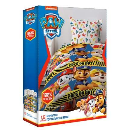Комплект постельного белья 1,5 Непоседа Щенячий патруль, хлопок, Щенки на страже