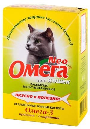 Витаминный комплекс для кошек Омега NEO, Протеин+L-карнитин 90 таб