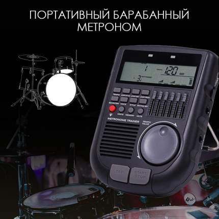Метроном для барабанов, черный, 12х16х3,5 см, The String ST-METR-01