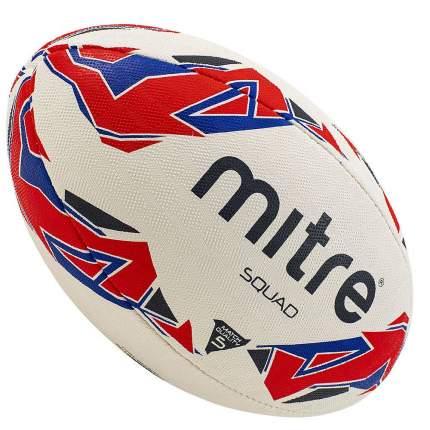 Мяч для регби Mitre Squad арт.BB1152WP4 р.5