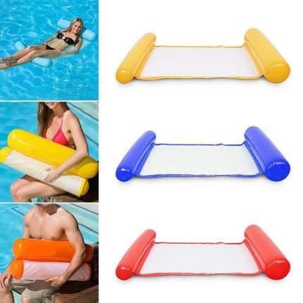 Надувной плавающий гамак-диван flex Metall SL Floating bed 45004