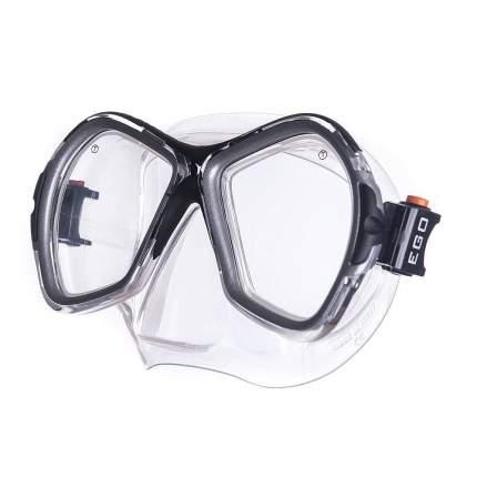 Маска для плавания Salvas Phoenix Sil Mask серебристая/черная