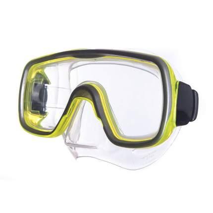 Маска для плавания Salvas Geo Sr Mask желтая