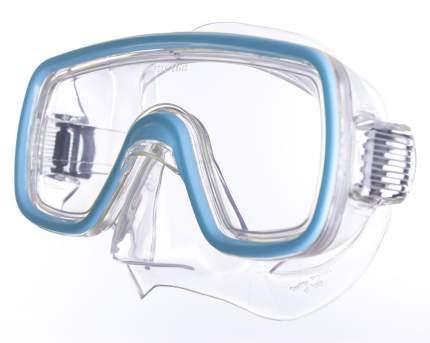 Маска для плавания Salvas Domino Md Mask голубая