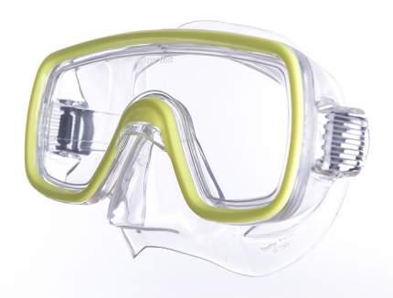 Маска для плавания Salvas Domino Md Mask желтая
