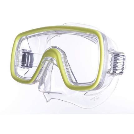 Маска для плавания Salvas Domino Jr Mask желтая
