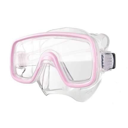 Маска для плавания Salvas Domino Jr Mask розовая