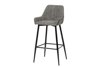 Полубарный стул Hoff Punch 80333772, черный/темно-серый