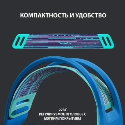 Игровая гарнитура Logitech G733 Lightspeed Blue
