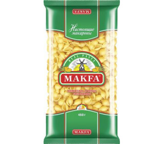 Макароны Makfa Ракушки 450г