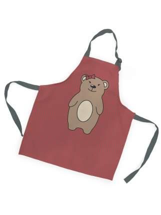 Фартук детский для девочки Медвежонок sfer.tex