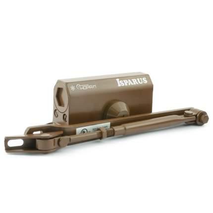 Доводчик дверной НОРА-М Isparus 410 морозостойкий (от 15 до 60 кг) - Коричневый