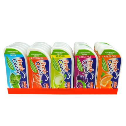 Сахарное освежающее драже Fresh candy ассорти 12 грамм Упаковка 20 шт