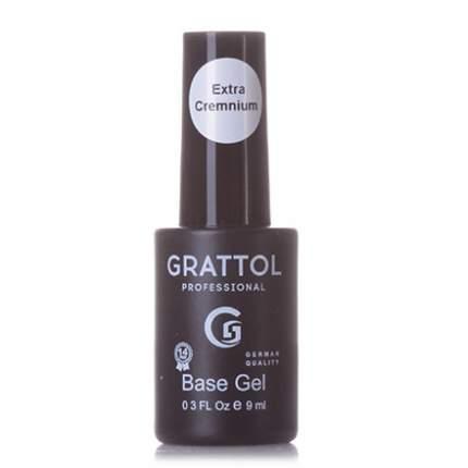 Grattol, База Gel Extra Cremnium, 9 мл