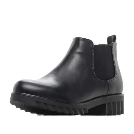 Ботинки для девочек ZENDEN, цв. черный, р-р 36