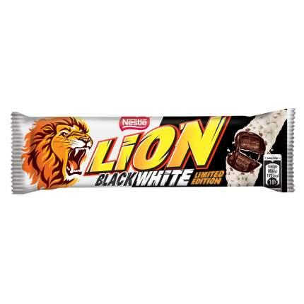 Шоколадный батончик Lion Black White 42 грамм Упаковка 40 шт
