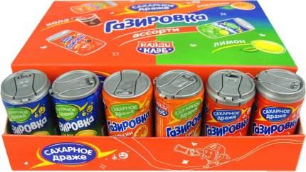 Сахарное драже газировка в баночках Ассорти 4 грамм Упаковка 30 шт