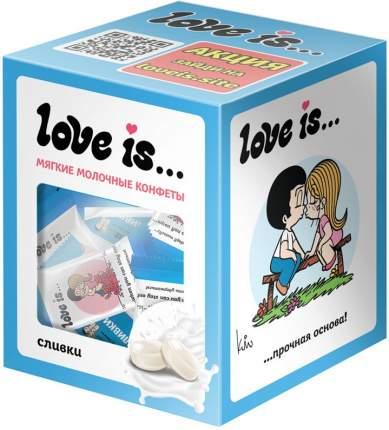 Жевательные конфеты LOVE IS со вкусом Сливок 105 гр Упаковка 1 шт