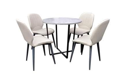 Набор мебели Оливер арт.D-716/W-125 бежевый, бежевый