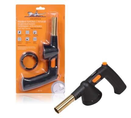 Горелка газовая с ручкой на цанговый баллон 21,5*12,5*5,5 см AIRLINE AGT-04