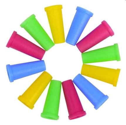 Мундштуки для кальяна внешние одноразовые (разноцветные) 100шт