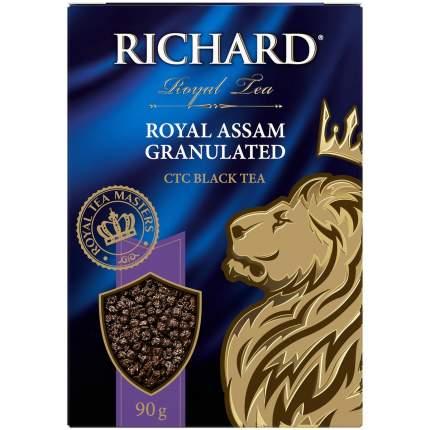 """Чай Richard """"Royal Assam Granulated"""", черный гранулированный, 90 г"""