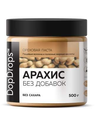 Арахисовая паста DopDrops без добавок 500г