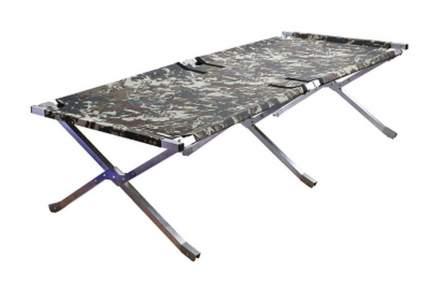 Кровать раскладушка алюминиевая Следопыт PF-CB-06AL в чехле