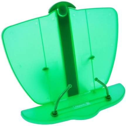 Подставка для учебников, пластик, 19 х 25 см, зеленый