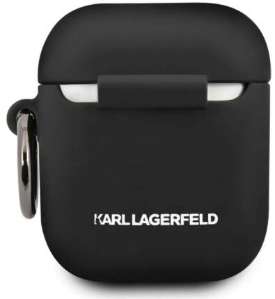 Чехол Karl Lagerfeld Silicone Case для AirPods Black