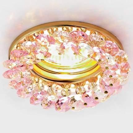 Встраиваемый светильник Ambrella light Crystal K206 PI/G