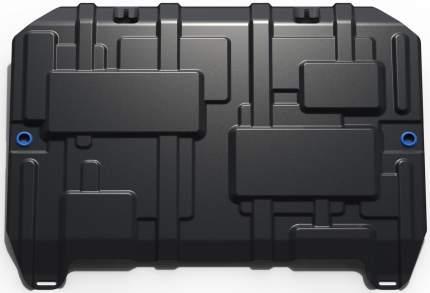 Защита картера и КПП Rival для Haval F7 2019-н.в./F7x 2019-н.в., с крепежом, 111.9417.1