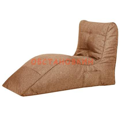 Бескаркасное кресло Папа Пуф Cinema beige