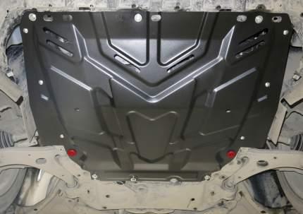 Защита картера и КПП АвтоБРОНЯ для Ford C-MAX I 2003-2010/Focus 2005-2011 2011-2015 2014-2