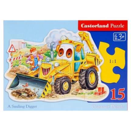 Пазл Трактор 15 элементов Castorland