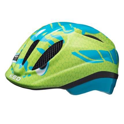 Детский шлем KED Meggy Trend Dino Lightblue Green S/M