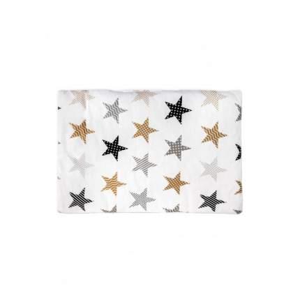 Подушка в кроватку Бамбук, цвет: белоснежный с рисунком, 60х40 см Сонный гномик