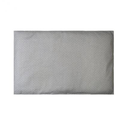 Подушка в кроватку Сонный гномик Бамбук, цвет: серый, 60х40 см