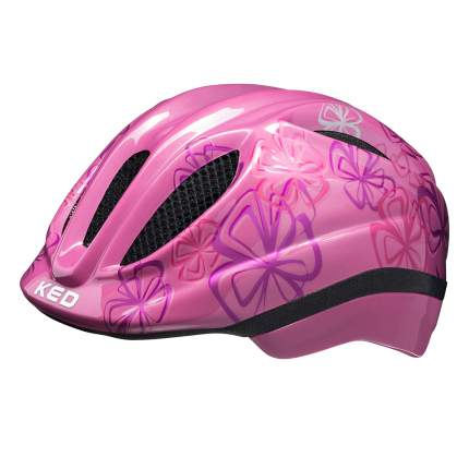 Детский шлем KED Meggy Trend  Pink Flower SM