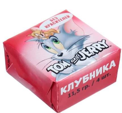 Конфеты жевательные Tom and Jerry клубника 11.5 грамм Упаковка 40 шт