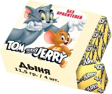 Конфеты жевательные Tom and Jerry Дыня 11.5 грамм Упаковка 40 шт