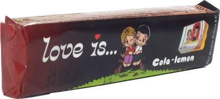 Жевательные конфеты LOVE IS Кола-Лимон 25 грамм Упаковка 12 шт