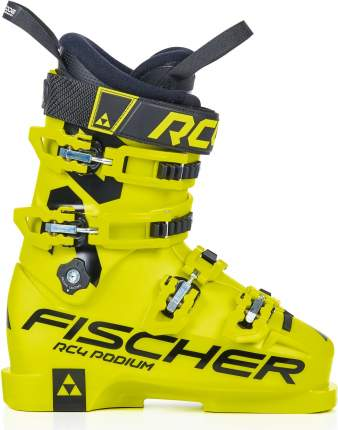 Горнолыжные ботинки Fischer Rc4 Podium 70 2021, yellow/yellow, 24.5