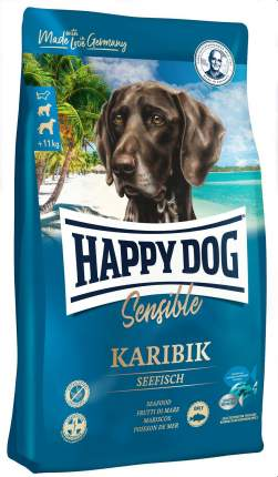 Сухой корм для собак Happy Dog Supreme Sensible Karibik, морская рыба, 1кг