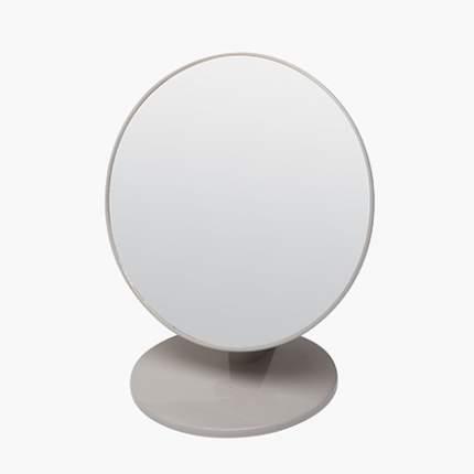 Зеркало Dewal, настольное в серой оправе