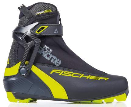 Ботинки для беговых лыж Fischer Rc3 Skate 2021, black/yellow, 41