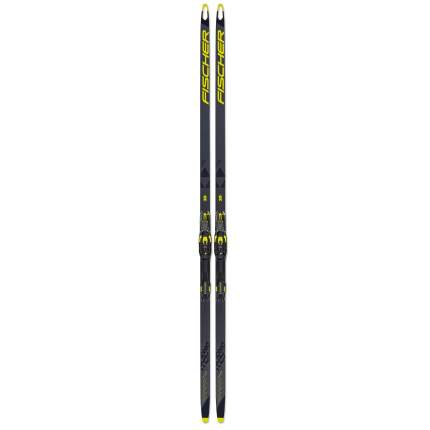 Беговые лыжи Fischer Speedmax 3D Skate Plus Stiff IFP Спортцех 2021, black/yellow, 186 см